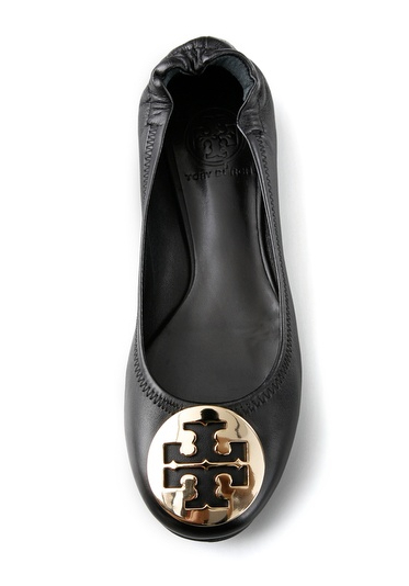 Tory Burch Black Ballet Flat