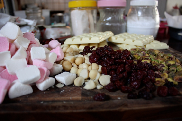 White Chocolate Rocky Road