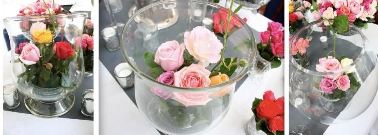 Roses in Glass | brownpaperbelle.com
