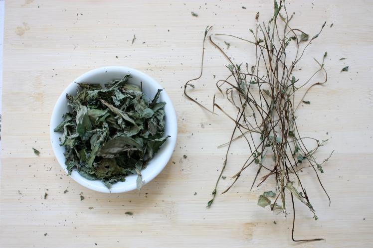 Homemade Mint Tea | brownpaperbelle.com