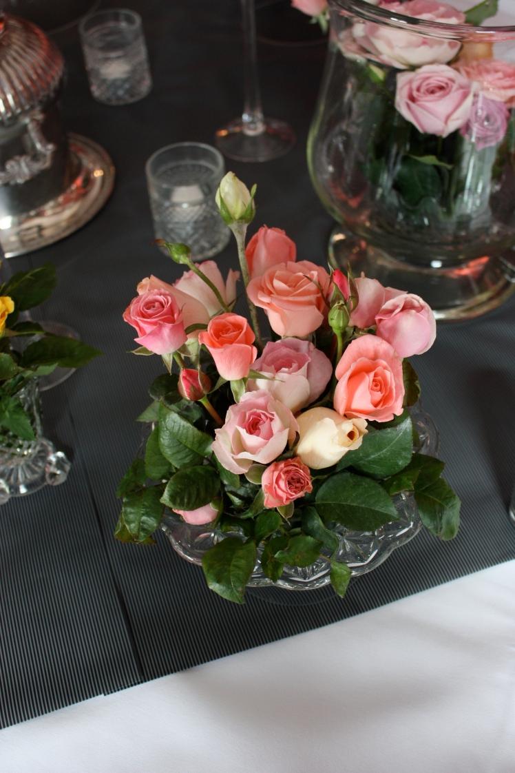 Roses in Cut Glass | brownpaperbelle.com