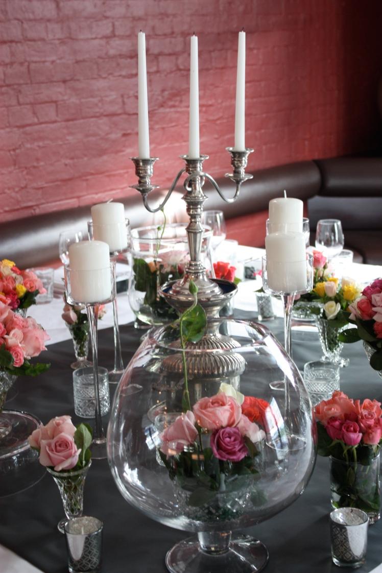 Roses and Candelabra | brownpaperbelle.com