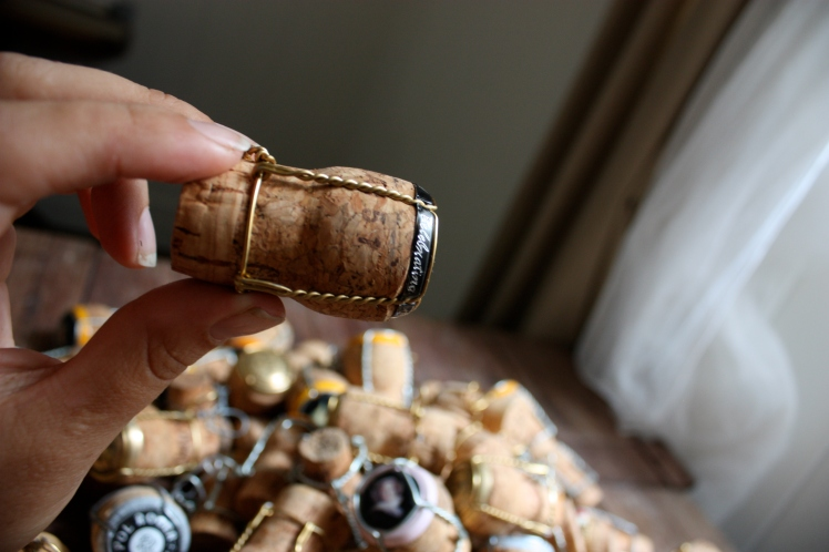 Champagne Cork Collection | brownpaperbelle.com