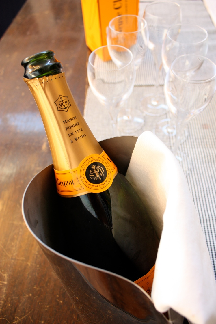 Easter Lunch Veuve Clicquot | brownpaperbelle.com