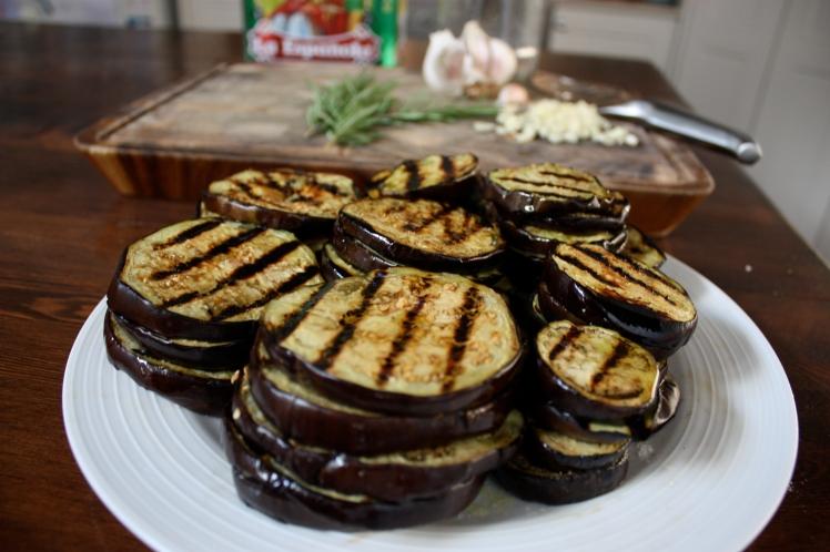 Roasted Eggplant, Garlic, Chick Pea Dip | brownpaperbelle.com