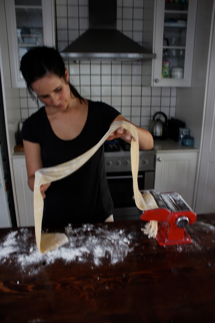 Home Made Fresh Pasta Dough | brownpaperbelle.com
