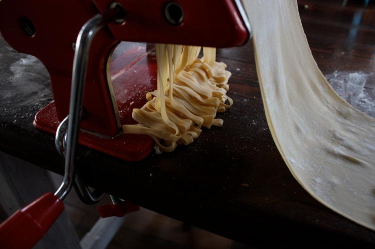 Home Made Fresh Pasta Dough   brownpaperbelle.com