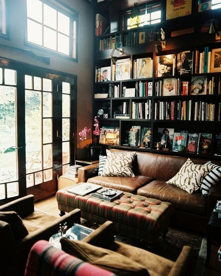 Home Library | brownpaperbelle.com