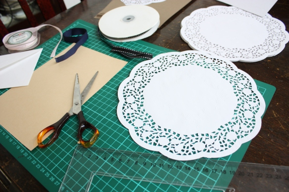 Paper Doily Birthday Card | brownpaperbelle.com