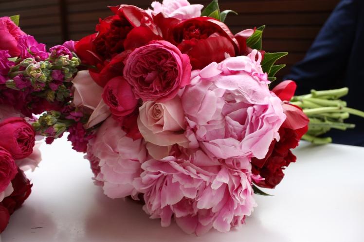 Pink Peony Bouquet | brownpaperbelle.com