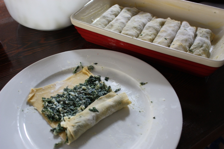 Spinach and Ricotta Cannelloni | brownpaperbelle.com