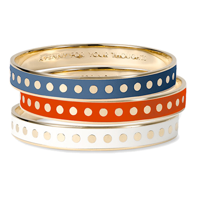 Kate Spade Idiom Bangle | brownpaperbelle.com