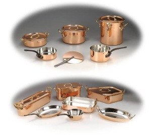 Tin Lined Copper Saucepans from E. Dehillerin | brownpaperbelle.com