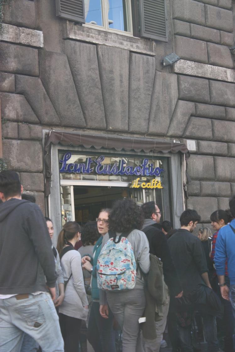 Sant Eustachio Coffee, Rome | brownpaperbelle.com