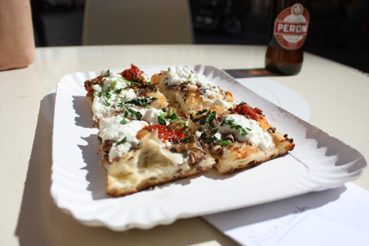 Pizza Zaza, Rome | brownpaperbelle.com