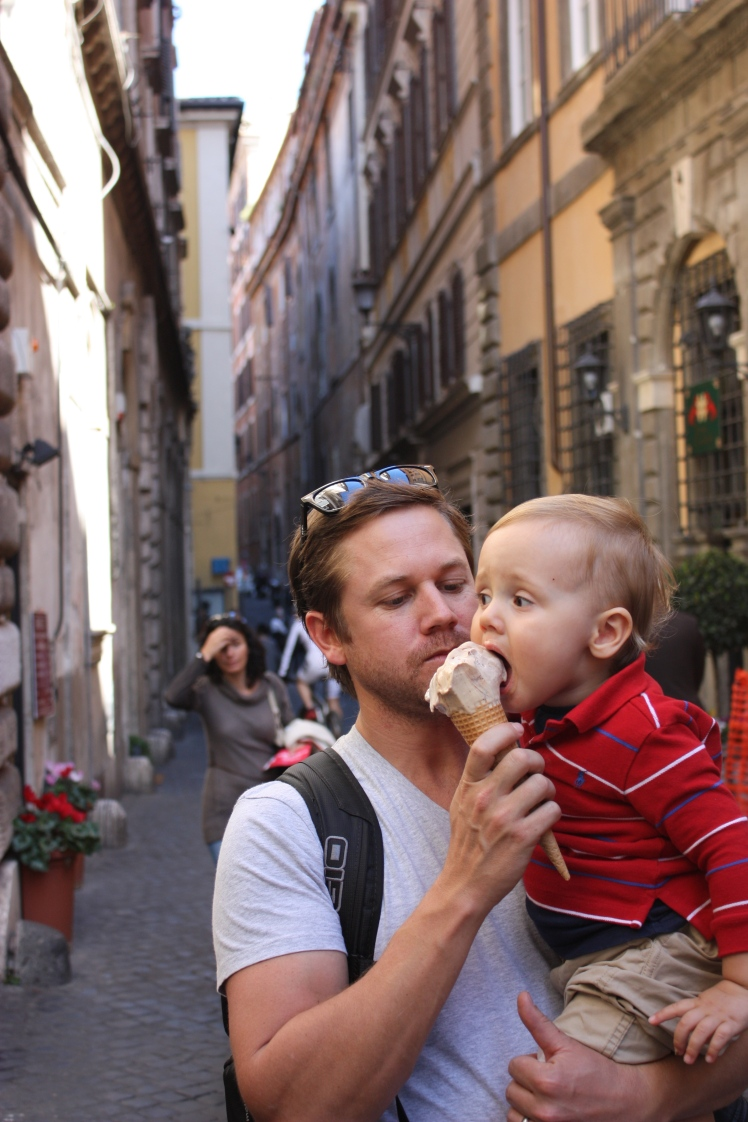 Gelato, Rome | brownpaperbelle.com