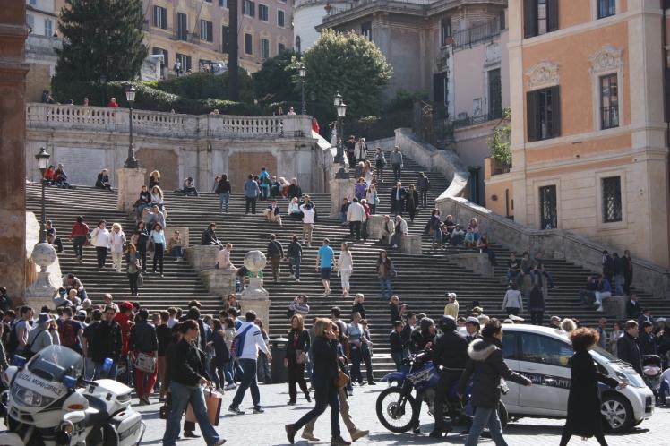 Spanish Steps, Rome | brownpaperbelle.com