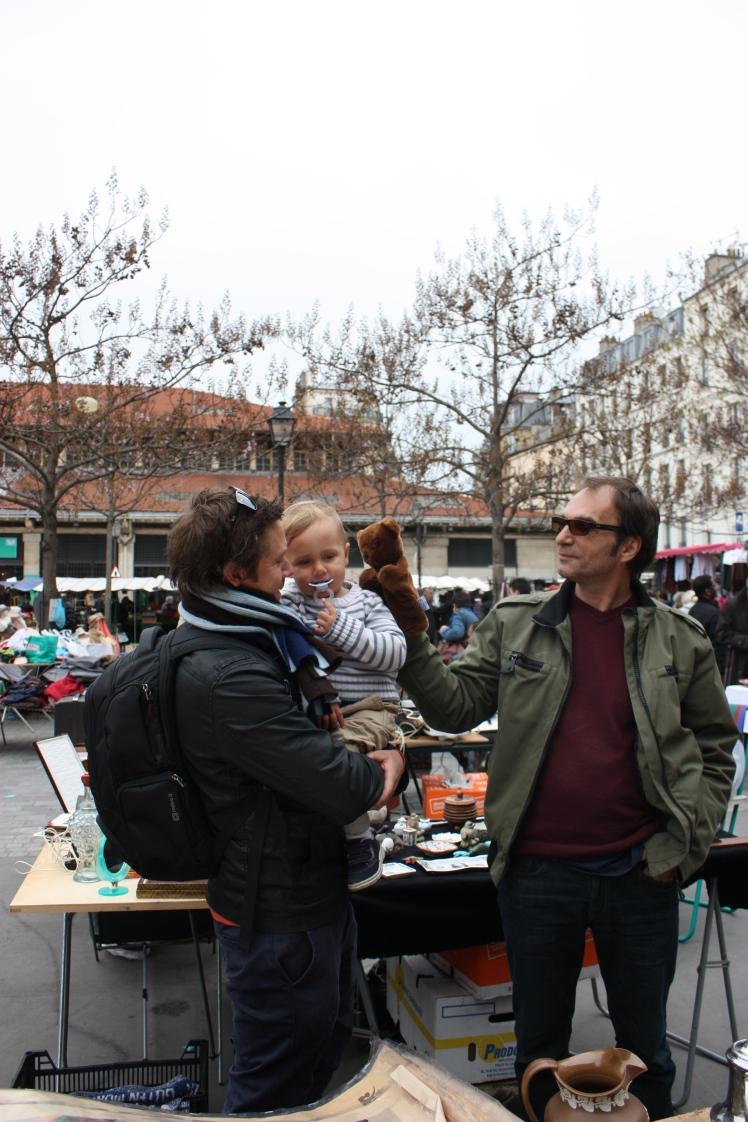 Paris Flea Market | brownpaperbelle.com