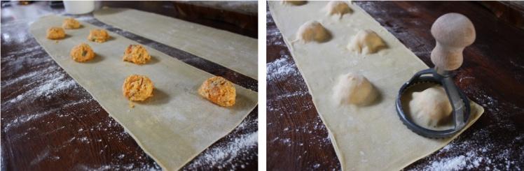 Pumpkin, Sage & Ricotta Ravioli | brownpaperbelle.com