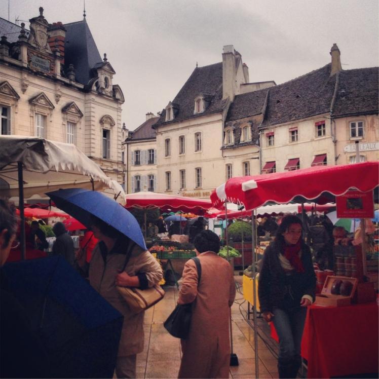 Saturday Food Markets, Beaune, France | brownpaperbelle.com