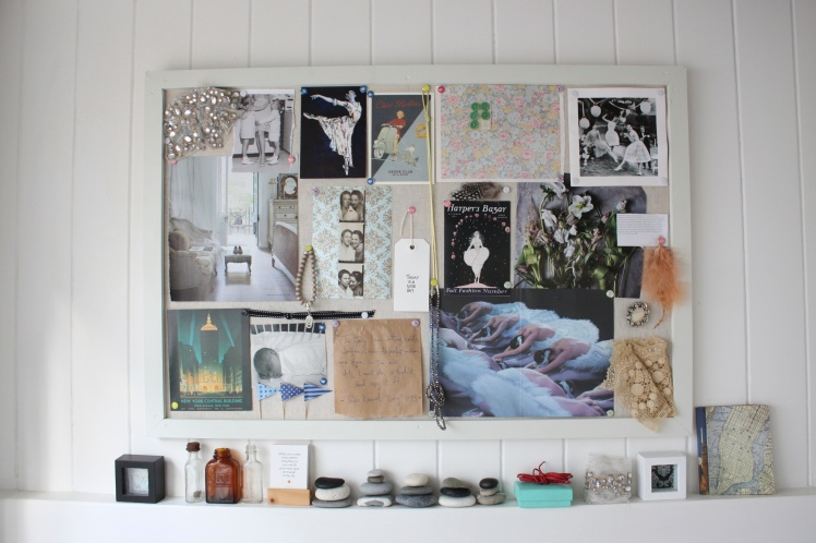 DIY Inspiration Noticeboard | brownpaperbelle.com