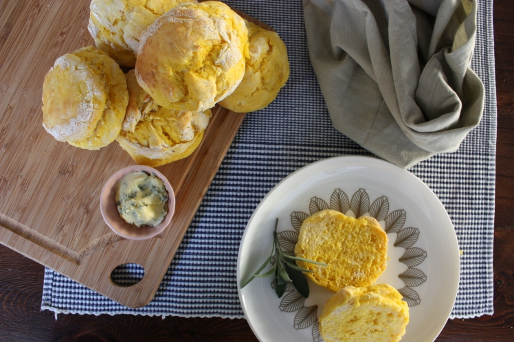 Pumpkin & Lemonade Scones | brownpaperbelle.com
