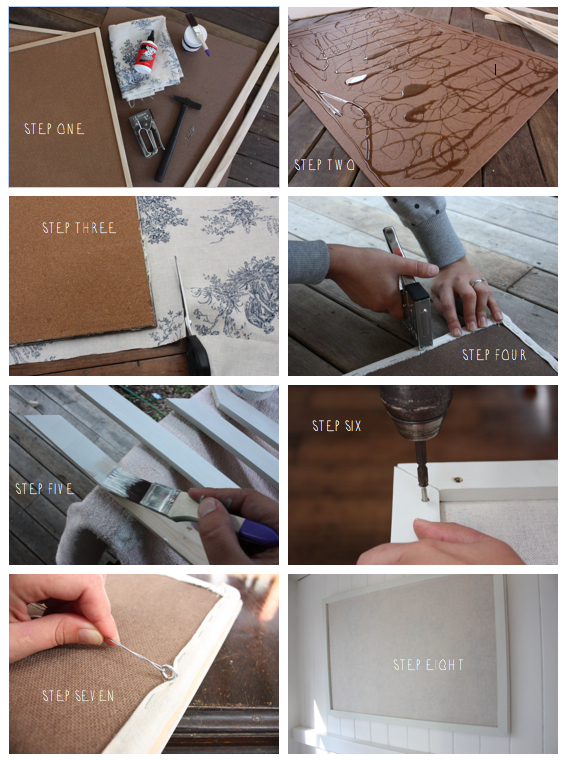 Step-by-Step DIY Inspiration Vision Board | brownpaperbelle.com