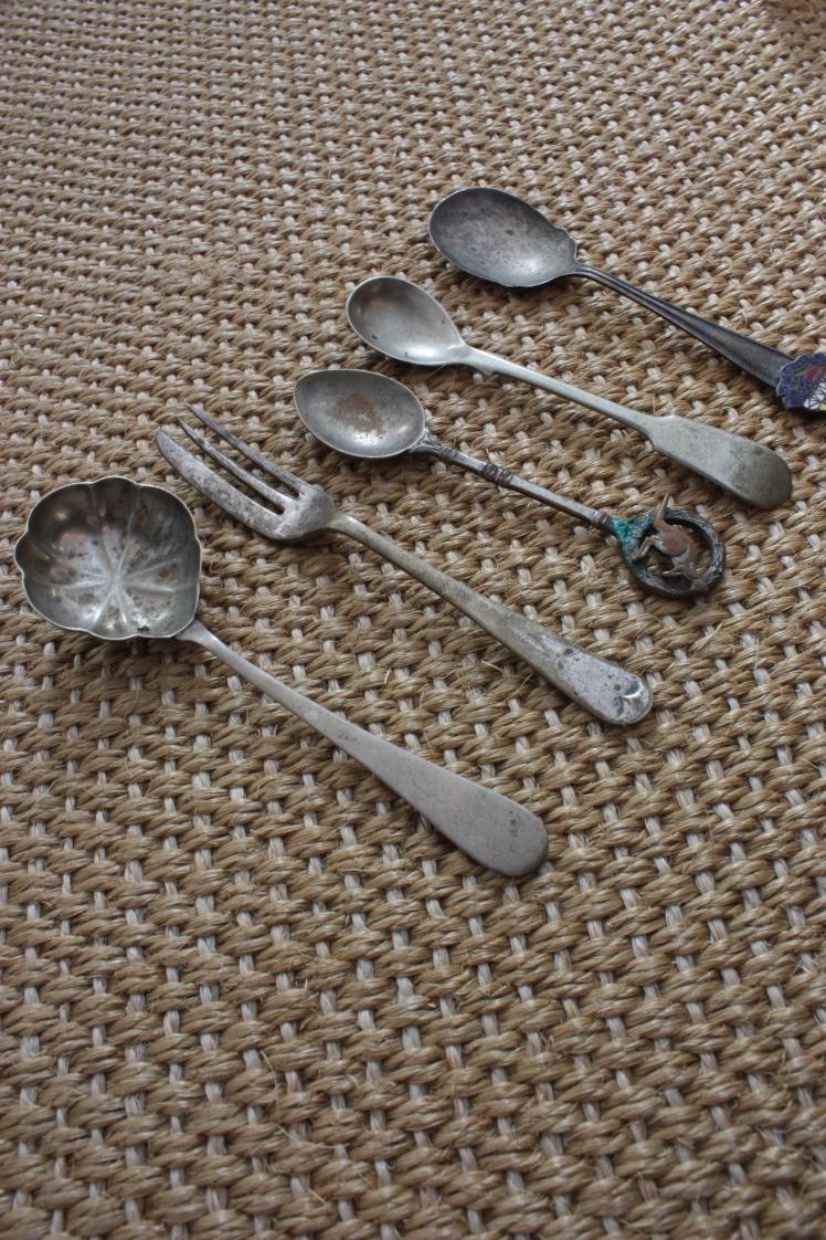 Old Teaspoons | brownpaperbelle.com