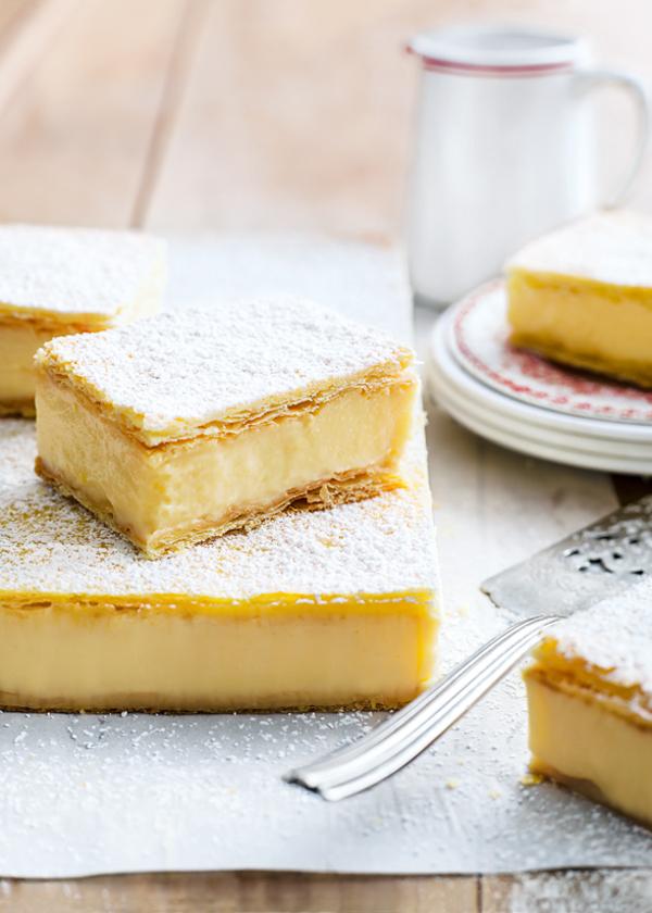 Donna Hay's Vanilla Custard Slice | brownpaperbelle.com