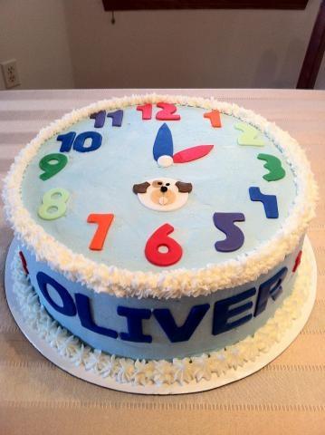 Clock Cake | brownpaperbelle.com