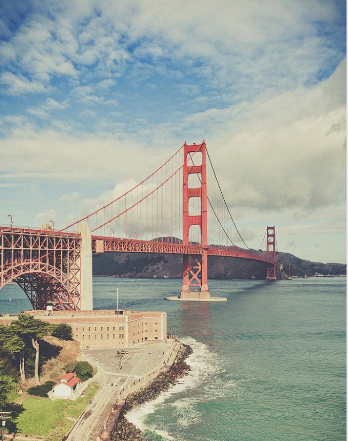 Golden Gate Bridge | brownpaperbelle.com
