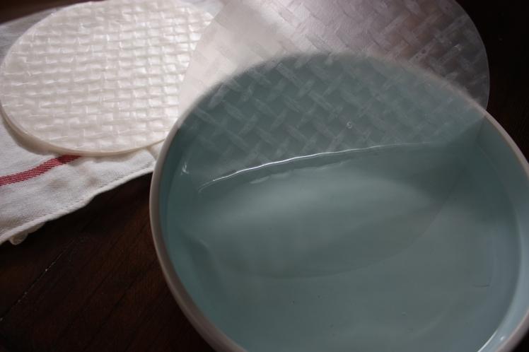 Rice Paper Rolls   brownpaperbelle.com
