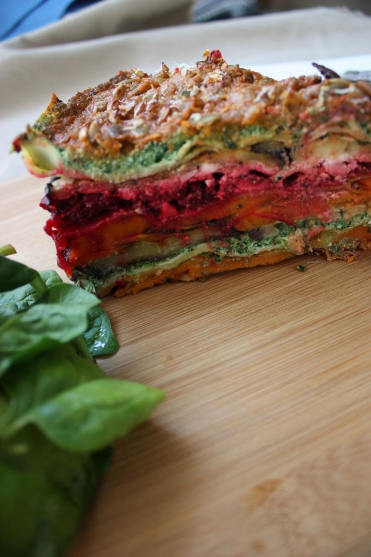 Vegetarian Lasagne | brownpaperbelle.com