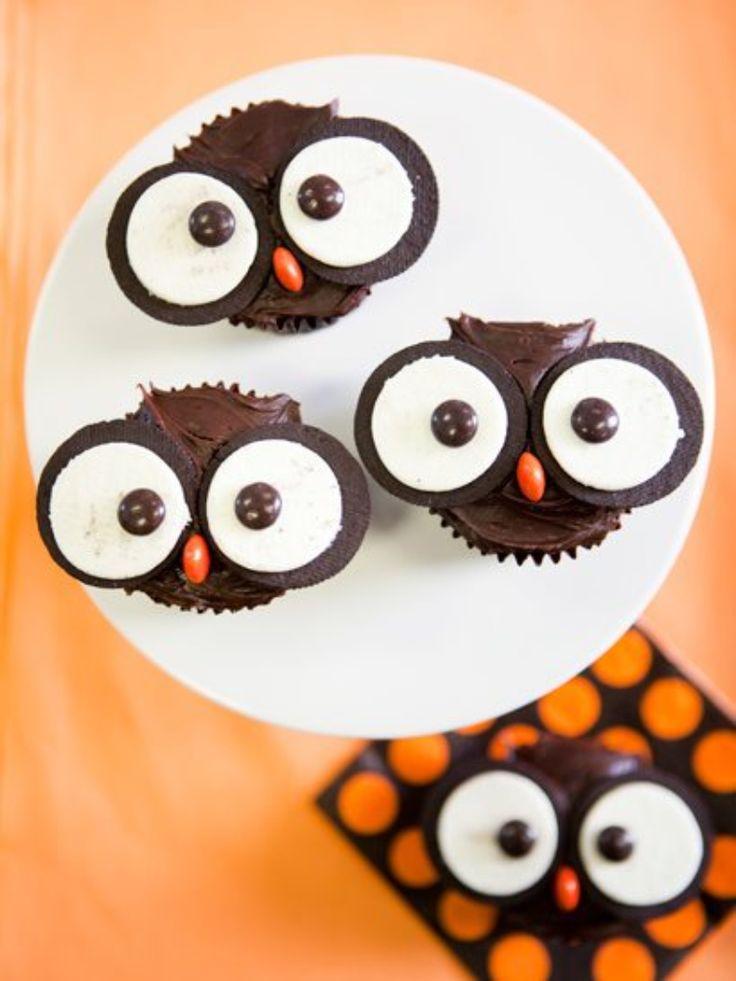 Owl Cupcakes | brownpaperbelle.com