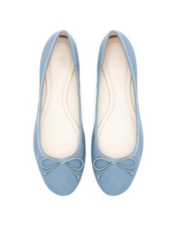 Zara Ballerina Flats | brownpaperbelle.com