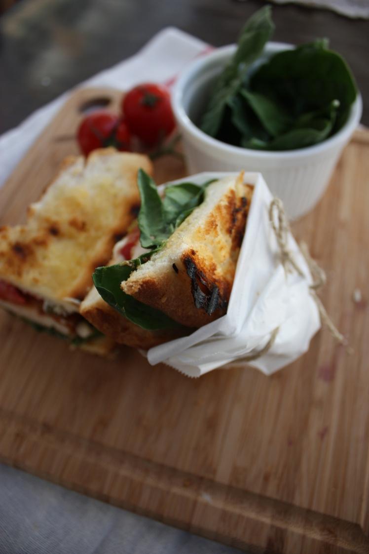 Chicken Schnitzel Sandwich | brownpaperbelle.com