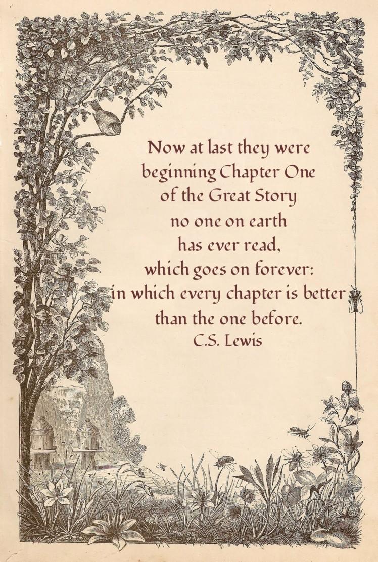 Wedding Quote, C.S. Lewis | brownpaperbelle.com
