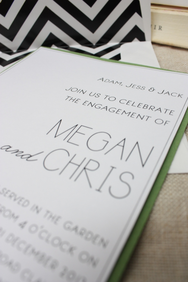 Garden Party Invitation | brownpaperbelle.com