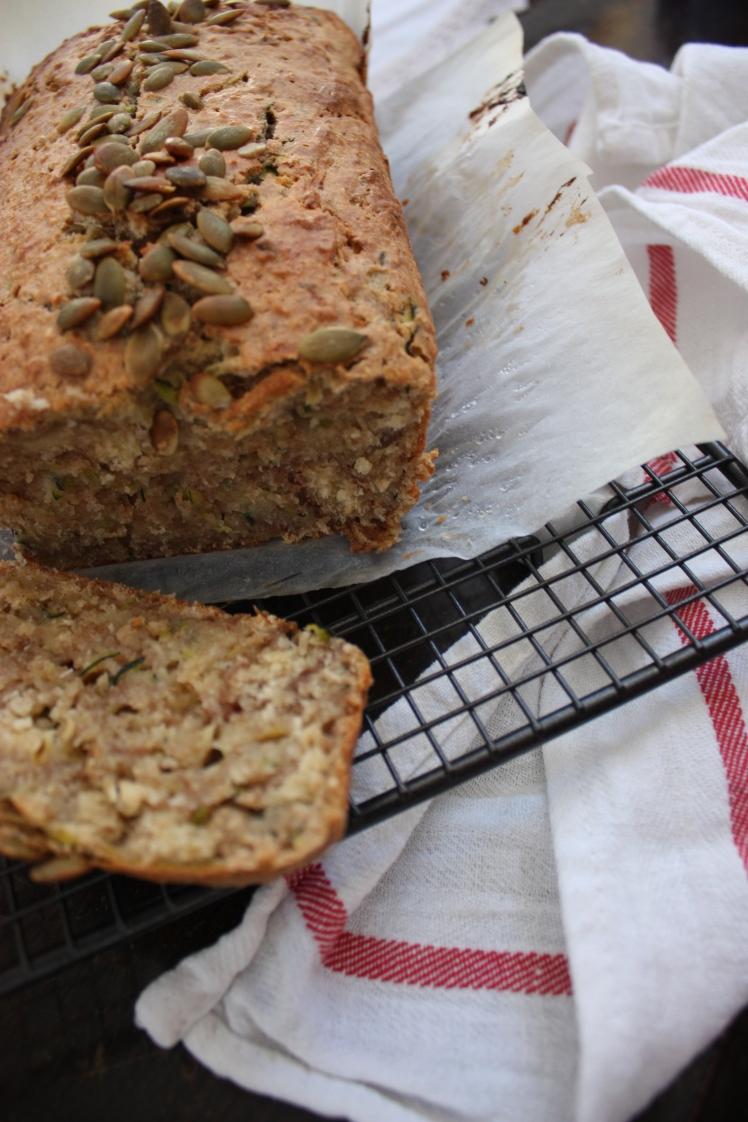 Zucchini & Coconut Bread | brownpaperbelle.com