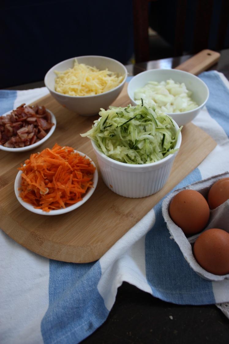 Zucchini Slice | brownpaperbelle.com